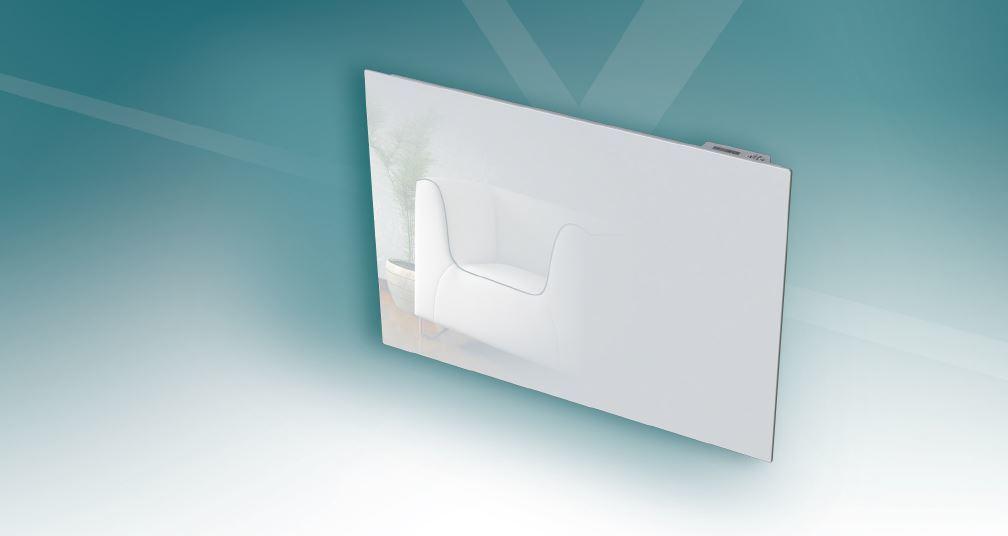 soldes carrera radiateur inertie en fonte milo verre lcd 1500w pas cher achat vente. Black Bedroom Furniture Sets. Home Design Ideas