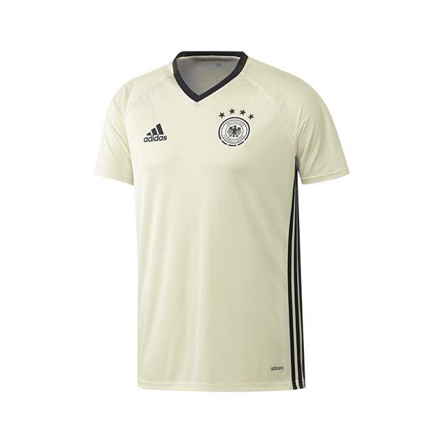 Adidas performance - Maillot Training Allemagne Blanc Cassé Junior