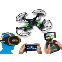 4de1bbcafcc119 Hélicoptères télécommandés sublime Gear2Play Drone Fpv Urban avec camera et  casque Vr 3D