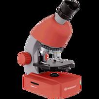 Bresser - microscope Junior 40x-640x rouge