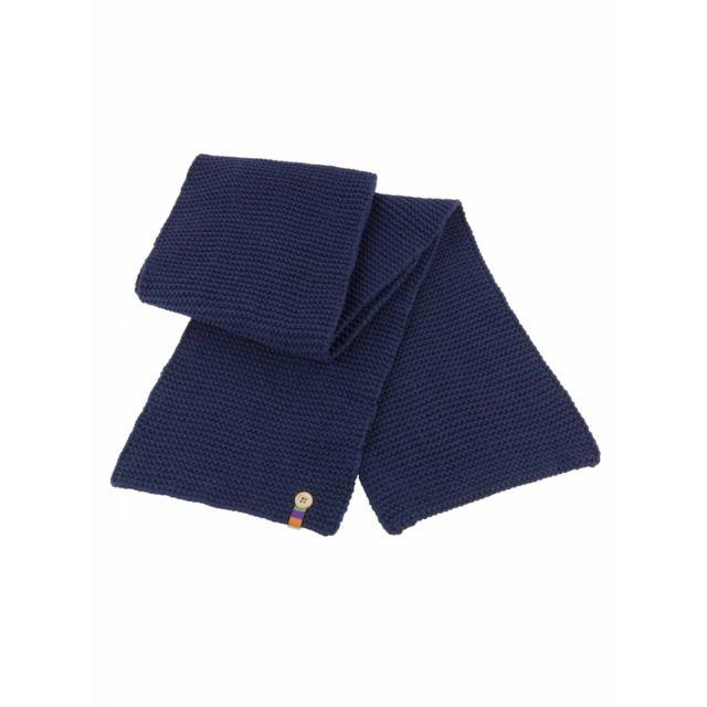 220099d0e6a9 Result - Echarpe tricot - R351X bleu - mixte homme femme - pas cher ...