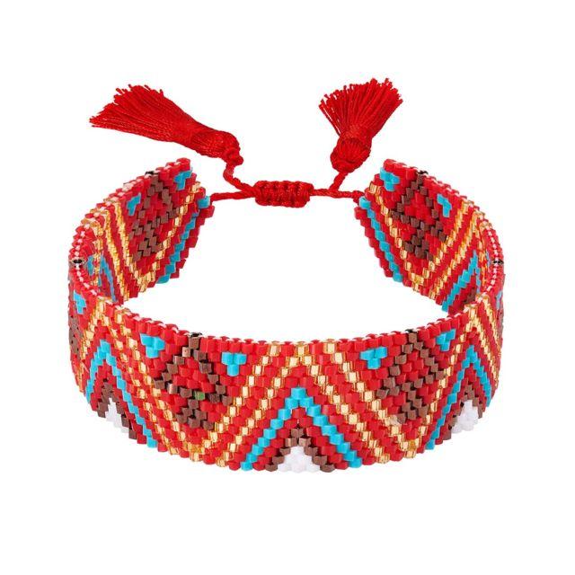 bracelet femme tissus
