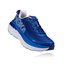 Hoka One One - Bondi 5 Bleue Et Blanche Chaussures de running