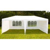 BOUTIQUE-JARDIN - Tente de réception 3x6m 180gr/m²