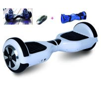 COOL AND FUN - COOL&FUN Hoverboard, gyropode 6,5 pouces Blanc