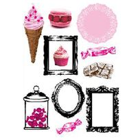 "Paris Prix - Magnets 20x28cm ""Cupcake Picture"