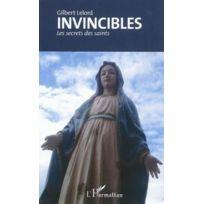 L'HARMATTAN - invincibles ; les secrets des saints