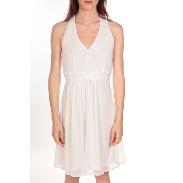 39a2bdbd627 Vero moda - robe Miami Blanche - pas cher Achat   Vente Robes ...
