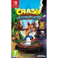 CRASH BANDICOOT N'SANE TRILOGY - Jeu Switch
