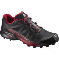 buy online 49e74 fff80 Salomon - Speedcross Pro Noire Et Rouge Chaussures trail