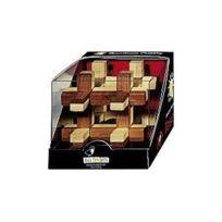 Fridolin - 17466 - Puzzle - Casse TÊTE En Bois Bambou - La Boite À Bille - Niveau 2 Difficile