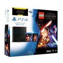 SONY - PS4 1To Noire + Lego Star Wars : Le Réveil de la Force + Blu-Ray : Le réveil de la Force