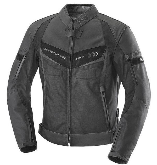 blouson moto Newa cuir homme Sport toutes saisons noir Promo 52