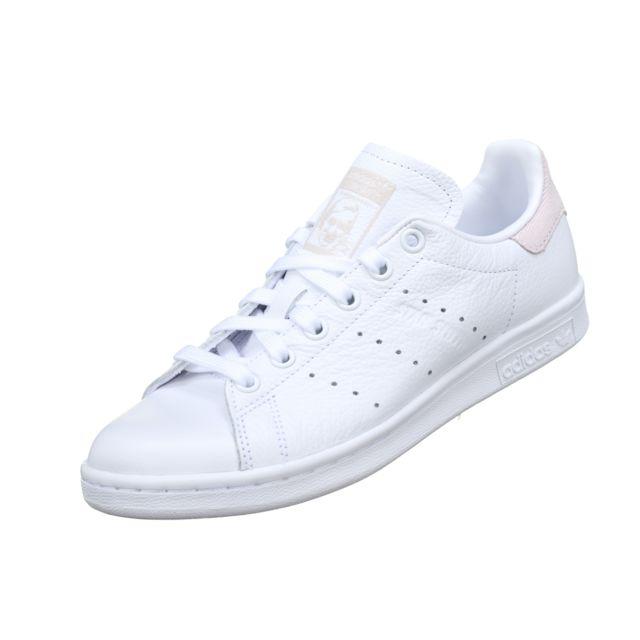 chaussures de séparation 95661 cd4e2 Adidas - Stan Smith W B41625 Blanc/Rose - pas cher Achat ...