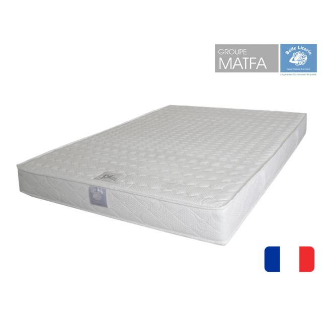 belle literie matelas ergoflex couchage latex 140x200 achat vente matelas latex pas chers. Black Bedroom Furniture Sets. Home Design Ideas