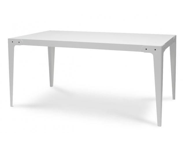 Coton Pastel Table à manger métal blanc
