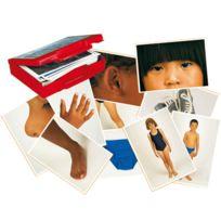 """Akros - jeu """"le corps humain et les vetements"""" - 50 cartes-images"""