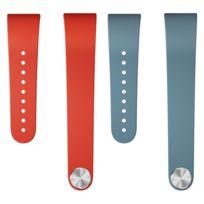 Sony - Bracelets pour SmartBand Talk Swr310 Rouge et Bleu M/L