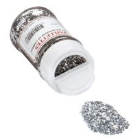 Oz International - paillette scintillante argent - pot de 50g
