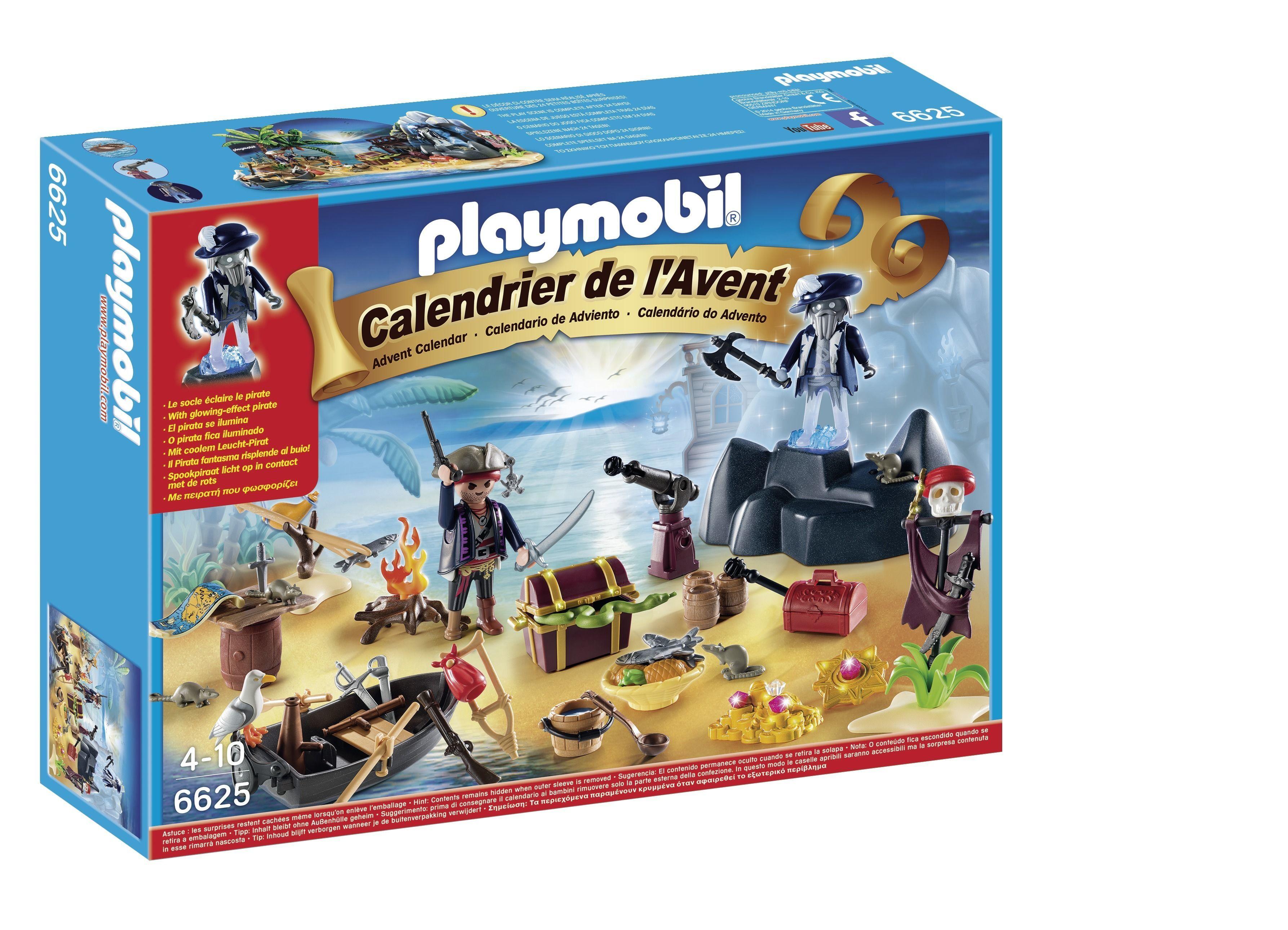 """Calendrier de l'Avent """"Ile des pirates"""" - 6625"""