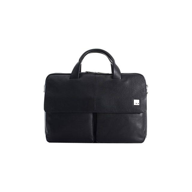 e1824020af Knomo - Brompton Warwick Noir - Sacoche cuir pour MacBook Pro 15 - pas cher  Achat / Vente Sacoche, Housse et Sac à dos pour ordinateur portable - ...