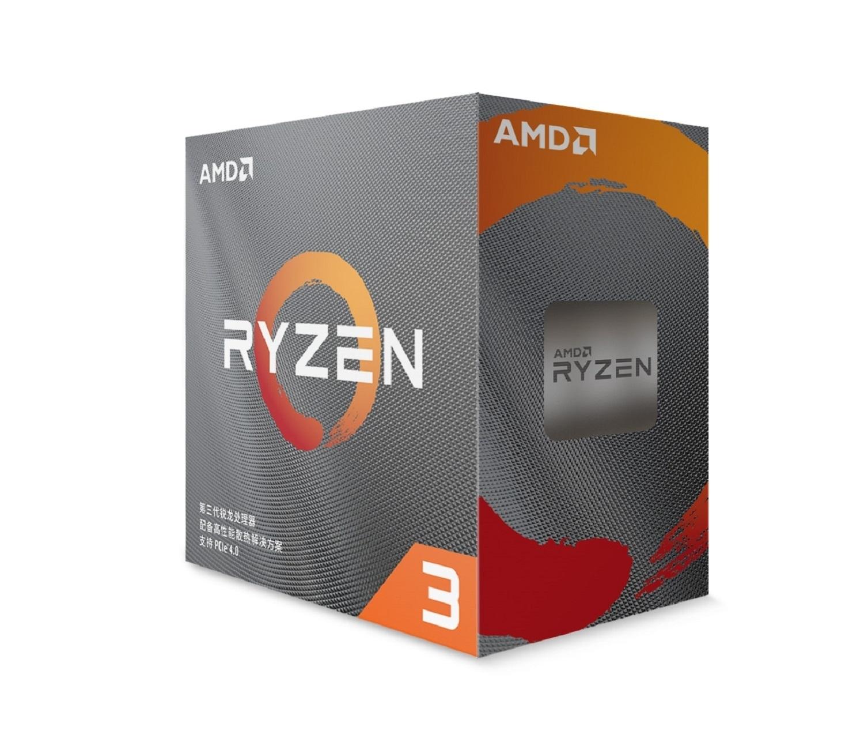 Ryzen 3 3100 Wraith Stealth - 3.6/3.9 GHz