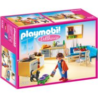 PLAYMOBIL - Cuisine avec coin repas - 5336