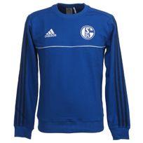 Adidas - Sweat Schalke s04 sweat 17/18 Bleu 75841