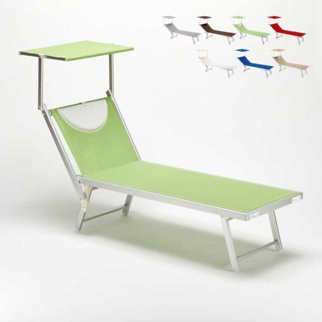 Beach and garden design bain de soleil transat chaise longue lit