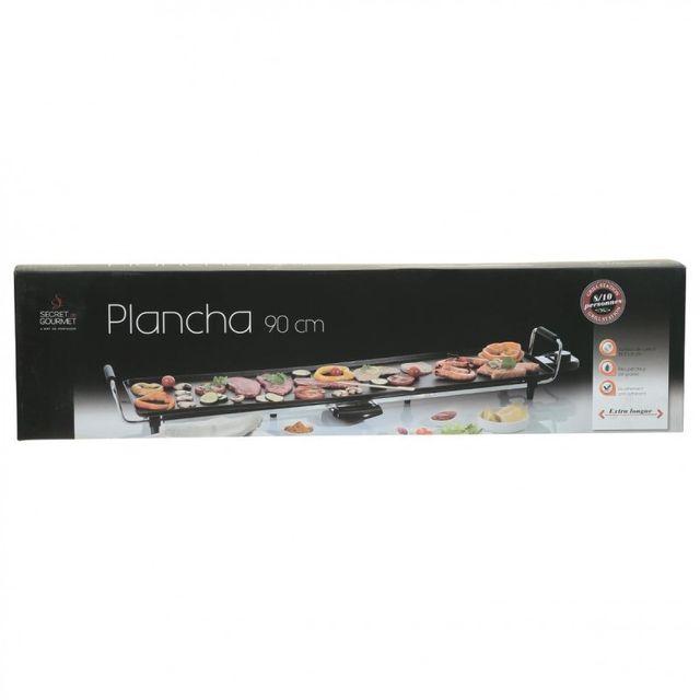 Paris Prix - Plancha Électrique 90cm Noir
