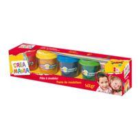 creamania art - 5 pots de pâtes à modeler