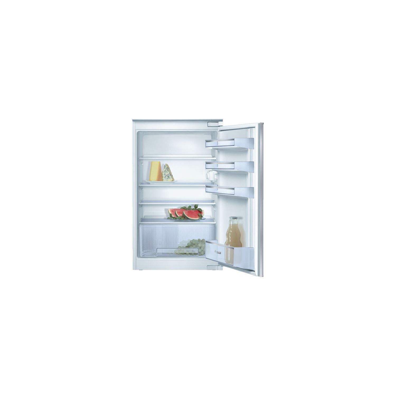 BOSCH  Réfrigérateur Intégrable, Confort, Fixation De Porte Par Glissières    Kir18v20ff