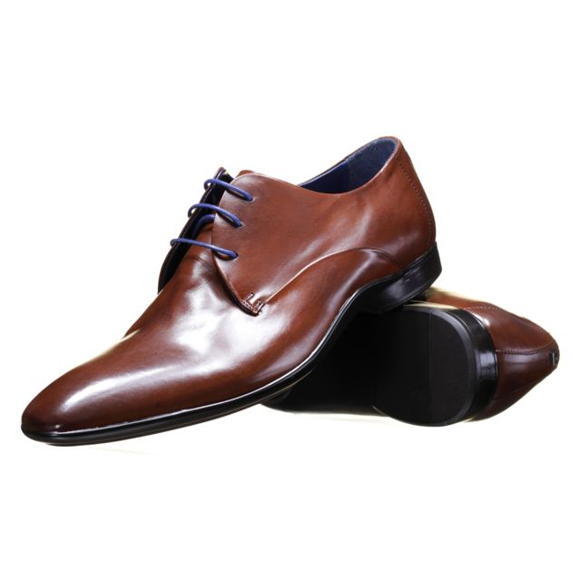 check-out 45335 a9800 Azzaro - Chaussure Outino Cognac - pas cher Achat / Vente ...