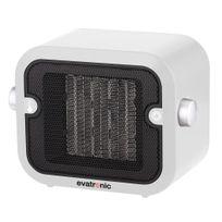 EVATRONIC - chauffage soufflant céramique 1500w blanc - 26966