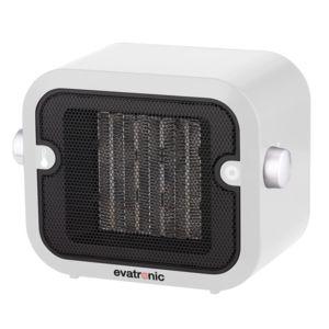 evatronic chauffage soufflant c ramique 1500w blanc 26966 pas cher achat vente radiateur. Black Bedroom Furniture Sets. Home Design Ideas