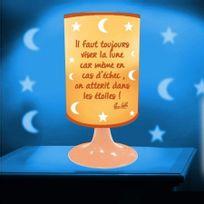 Stc - Lampe Projection - Il Faut Toujours Viser