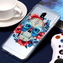 Wewoo - Coque pour Samsung Galaxy J3 2017 Version Ue / J330 Gaufrage Masqué Motif Ghost Soft Tpu Housse de protection