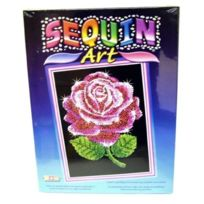 K.S.G - Ksg - Sequin Art - Loisirs CrÉATIFS - 1001 - Red Roses - Roses Rouges