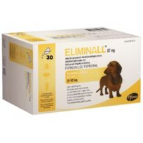 Zoetis - Pack 2 X Eliminall Chiens 2-10 Kg 67 Mg 30 Pipetes