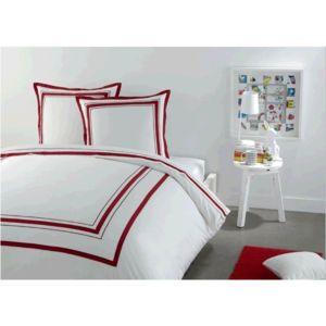 tex home parure dominique housse de couette 240x220 taies pas cher achat vente parures. Black Bedroom Furniture Sets. Home Design Ideas