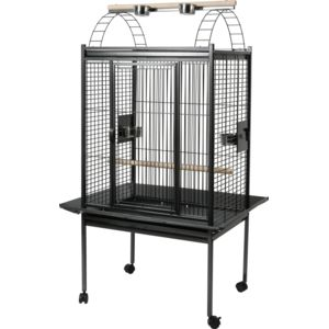 zolux cage perruche et perroquet kubeo 96 grise pas cher achat vente cage oiseaux. Black Bedroom Furniture Sets. Home Design Ideas