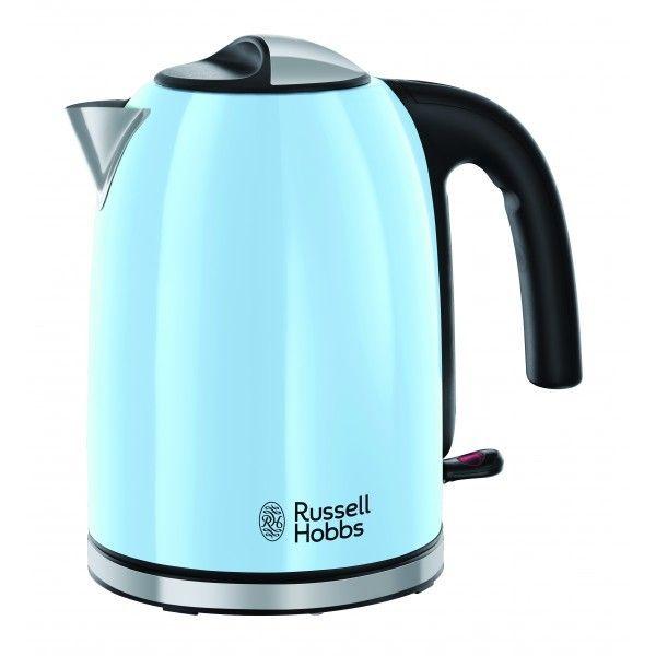 Russell Hobbs Bouilloire 1,7l - 2400W Colours Plus+ Bleu 20417-70