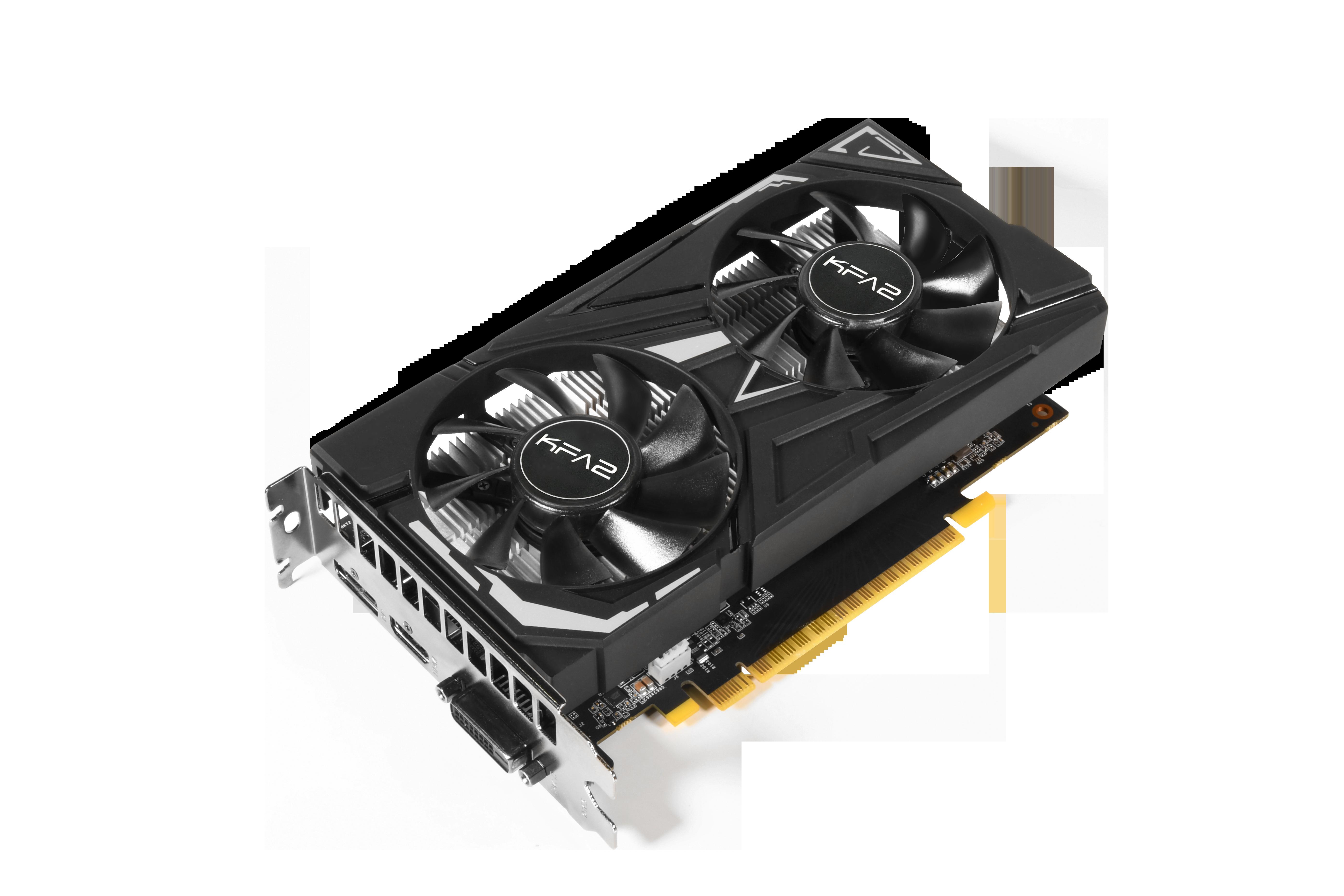 Carte graphique GeForce GTX 1650EX 1-Click OC 4 Go KFA2