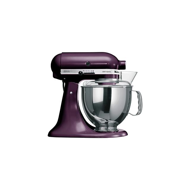 KITCHENAID Robot pâtissier artisan 300 w, 4,8 L, prune