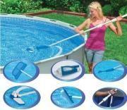intex kit d 39 entretien piscine luxe pas cher achat vente aspirateur et balais rueducommerce. Black Bedroom Furniture Sets. Home Design Ideas