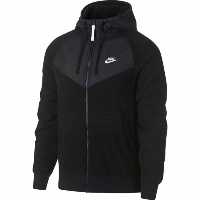 Nike Sweat à capuche Sportswear 929114 010 pas cher