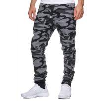 Violento - Jogging Homme Camouflage Noir