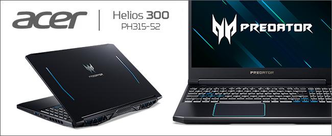 Acer Predator Helios 300 PH315 - Illustration