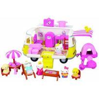 Pazapa - Bj Poupée et Mini Poupée Hello Kitty Camping Car