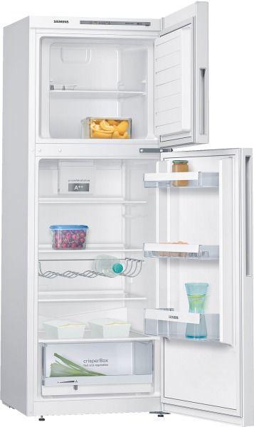 Siemens réfrigérateur combiné 60cm 264l a++ brassé blanc - kd29vvw30